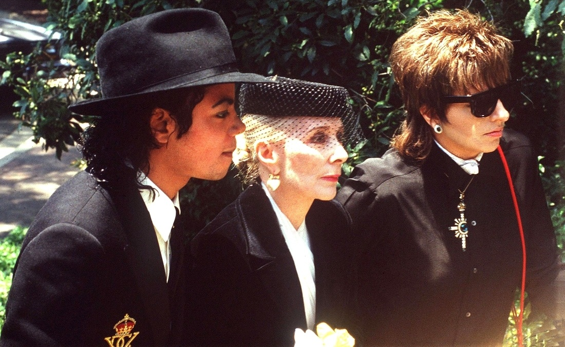 1986 Vincente Minnelli FuneralGroup 4-1