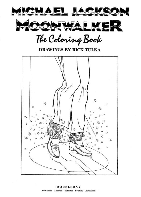 Moonwalker Coloring Book MJMoonwalkerCB1