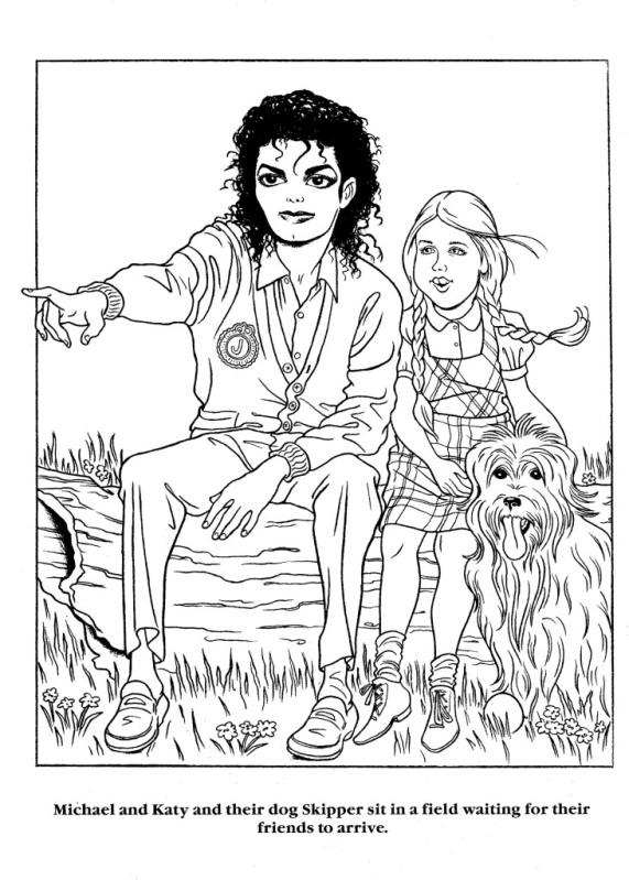 Moonwalker Coloring Book MJMoonwalkerCB13