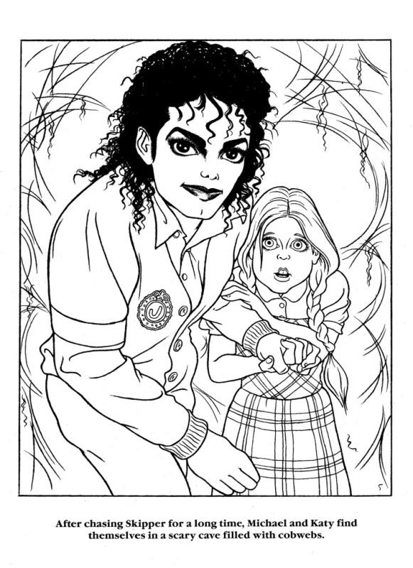Moonwalker Coloring Book MJMoonwalkerCB15