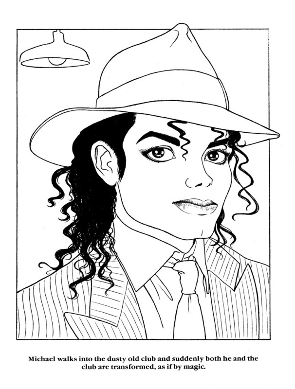 Moonwalker Coloring Book MJMoonwalkerCB21-1
