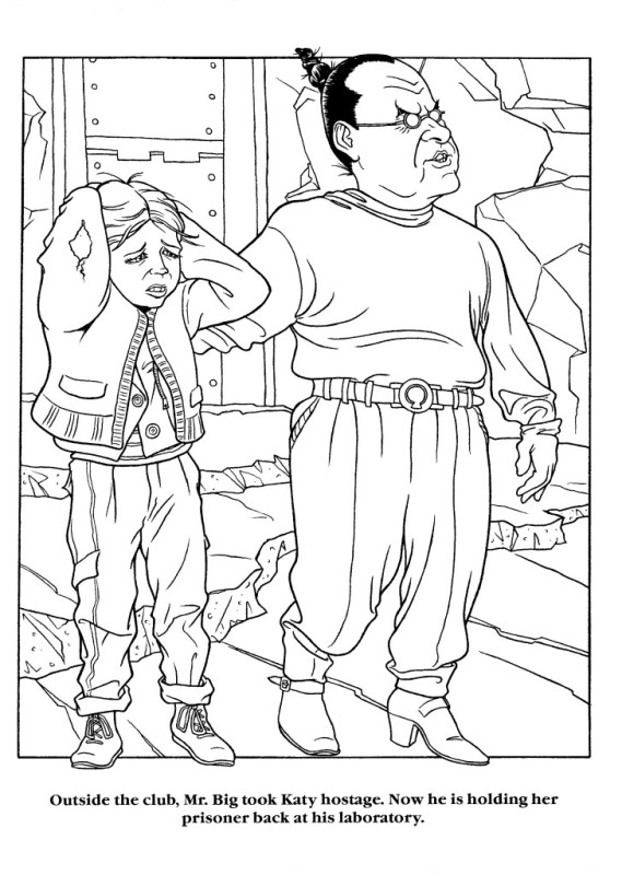 Moonwalker Coloring Book MJMoonwalkerCB24