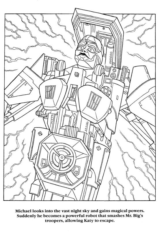 Moonwalker Coloring Book MJMoonwalkerCB26