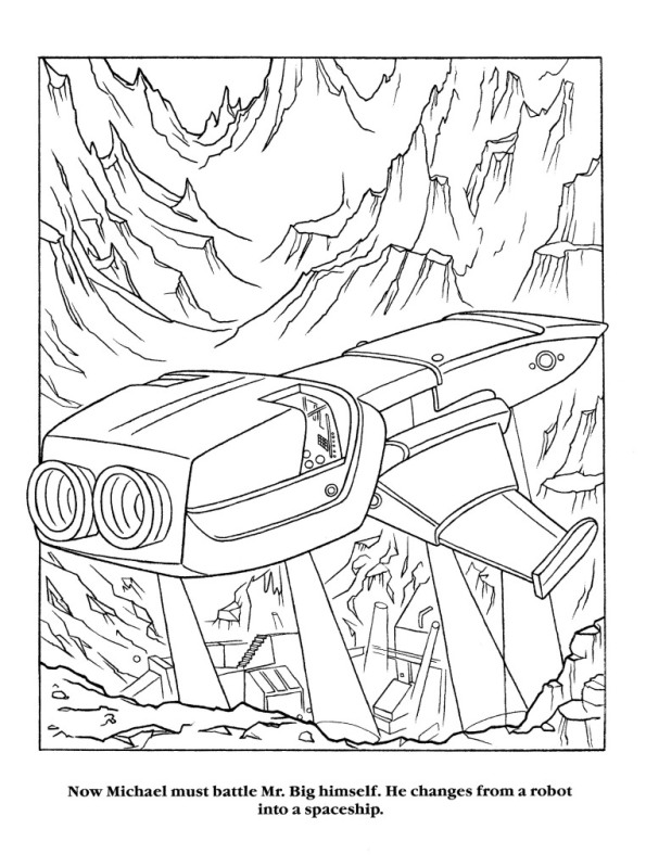 Moonwalker Coloring Book MJMoonwalkerCB27