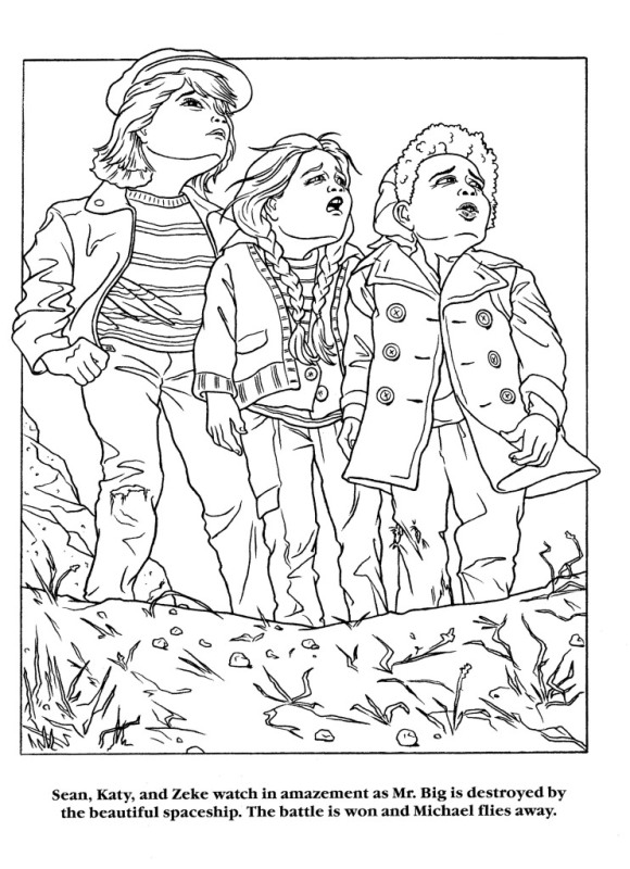 Moonwalker Coloring Book MJMoonwalkerCB28