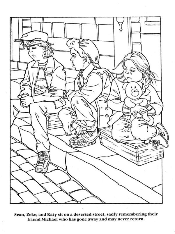 Moonwalker Coloring Book MJMoonwalkerCB29-1