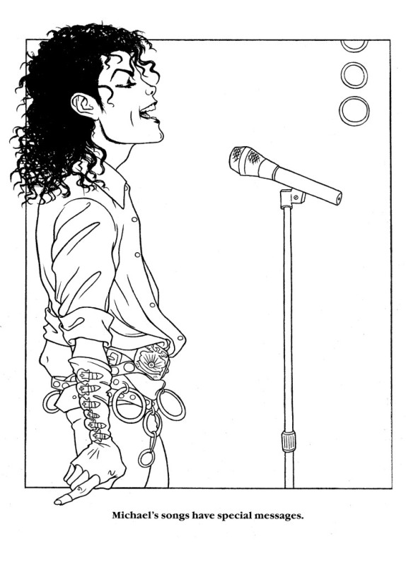 23 Best Michael Jackson Coloring Book images | Coloring books ... | 800x574