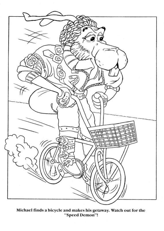 Moonwalker Coloring Book MJMoonwalkerCB7