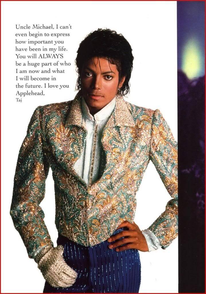 Michael Jackson Memorial Program Book Michaeljackson10