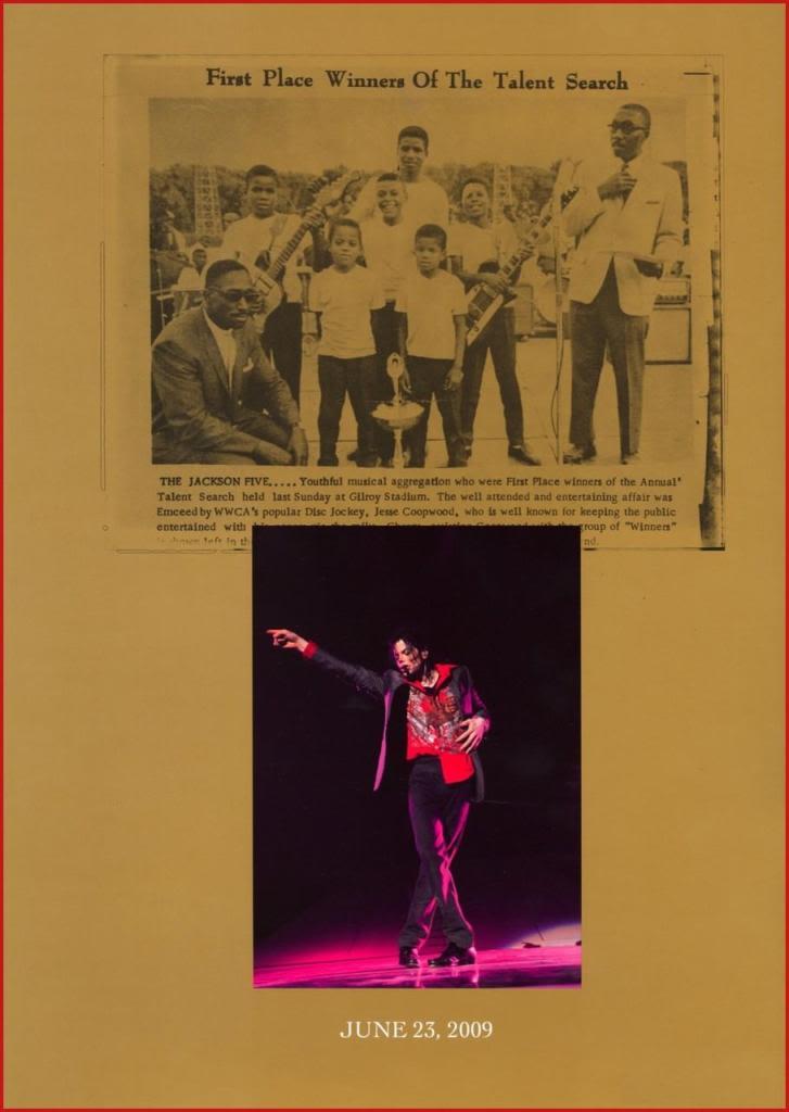 Michael Jackson Memorial Program Book Michaeljackson16
