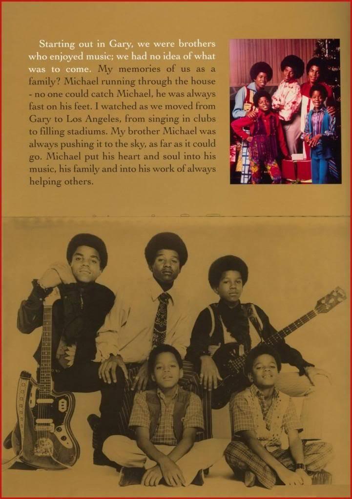 Michael Jackson Memorial Program Book Michaeljackson4