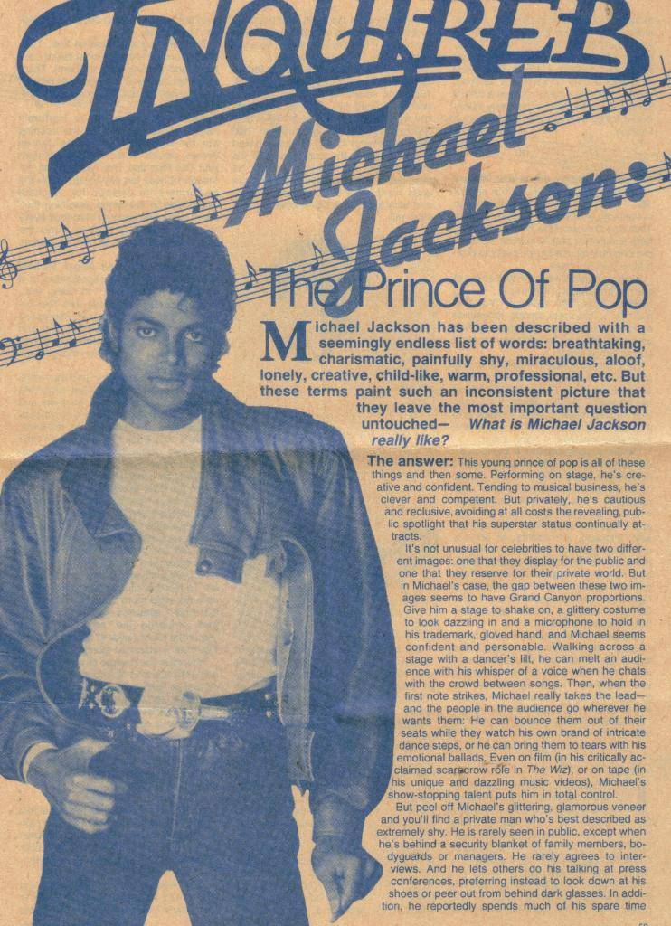 The Prince Of Pop 1984 1-16