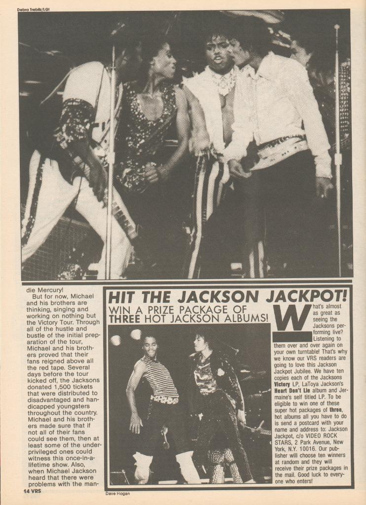 Video Rock Stars October-November 1984 4-11