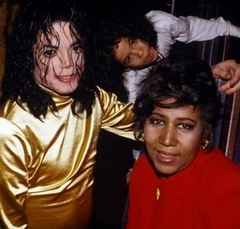 Michael's Favorite Musicians MichaelJackson_ArethaFranklin