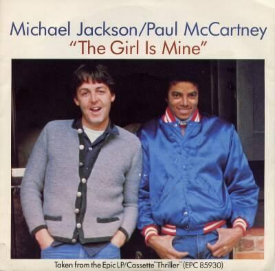 Michael's Favorite Musicians - Page 2 TheGirlIsMineUSA7SIngle