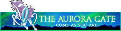 The Aurora Gate AuroraBlue