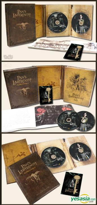 Le Labyrinthe de Pan : Edition Ultime 3 DVD+ BOF + HD Z2 THX R_g0000067398_12_01