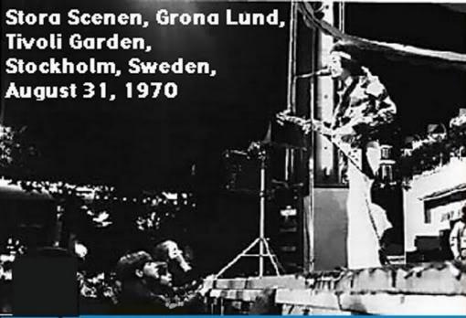Stockholm (Tivoli Garden) : 31 août 1970 921a6fefea5ee88738891f0b2a4f9341