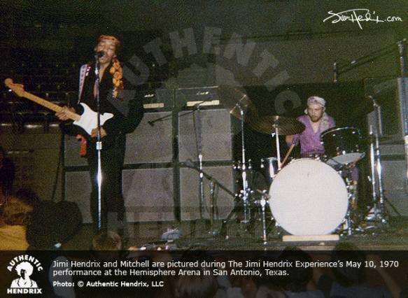 San Antonio  (Hemisfair Arena) : 10 mai 1970  96ddab7d2d398e01fa69571d3b9926b2