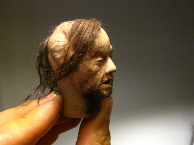 """CHEVEUX : Vrai cheveux sur nos 12"""" IMG_7566"""