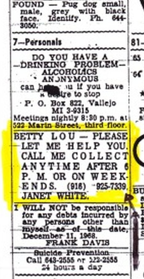 'Betty Lou' classified ad Bettyl10_zps2wkqje9q