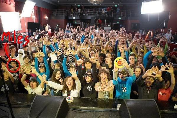 The Aquabats! Supershow! Assfilming