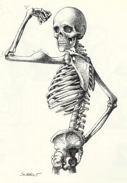 Feliz cumple toto Esqueleto