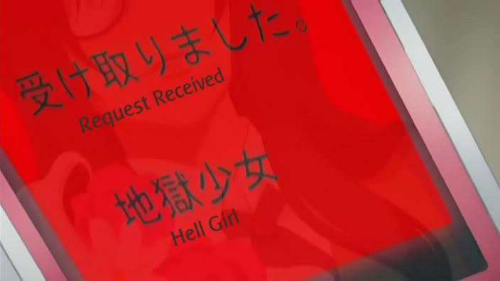 Jigoku Shoujo (Hell Girl) Phone2