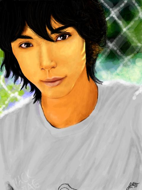 Hiro on Tegaki Mizushima-hiro-tegaki-v2