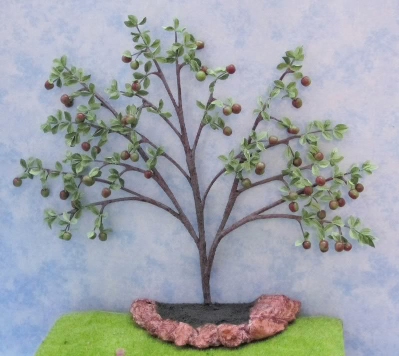 Fan Apple Tree - 12th scale 1318s