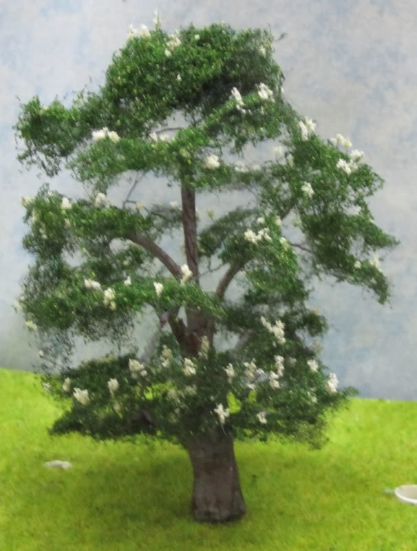 Horse Chestnut Model Tree, OO Gauge Horse Chestnut in Candle