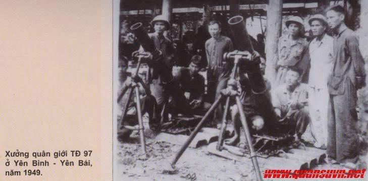 Vũ khí Việt Nam trong 2 cuộc kháng chiến Coi-VM1949