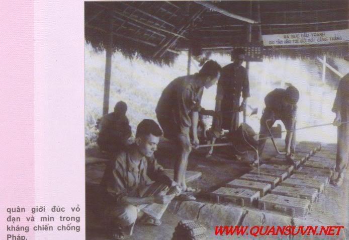 Vũ khí Việt Nam trong 2 cuộc kháng chiến Ducvomin