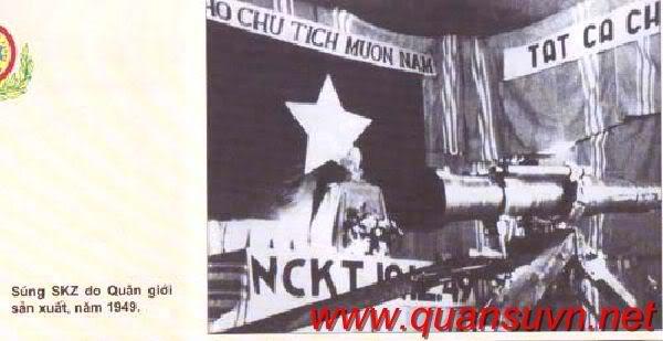 Vũ khí Việt Nam trong 2 cuộc kháng chiến SKZ