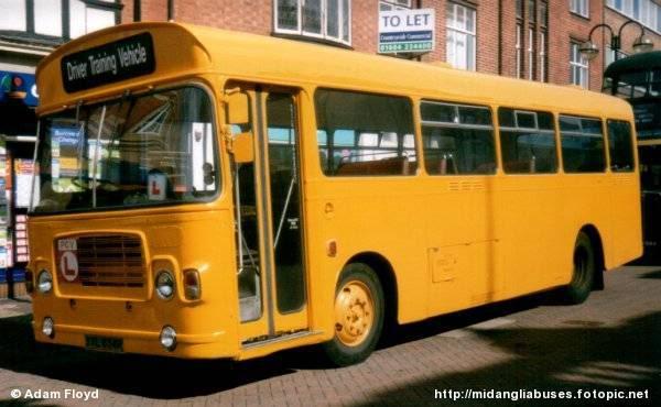 Kernowbusman tales Trainingbus