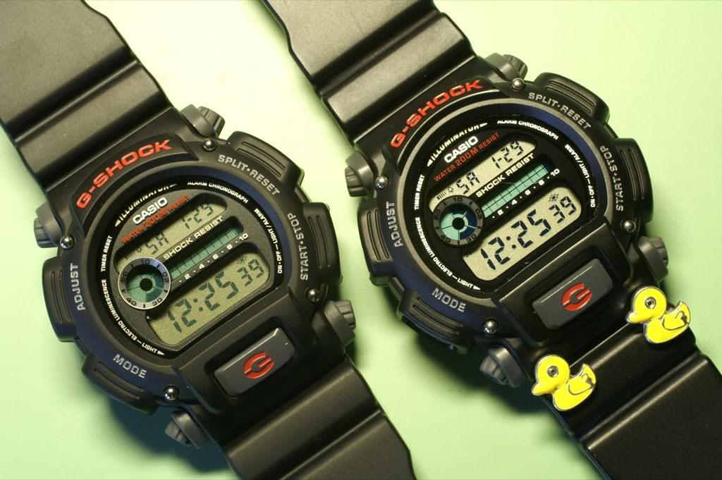 casio - Casio G-Shock Double Duck PICT0026