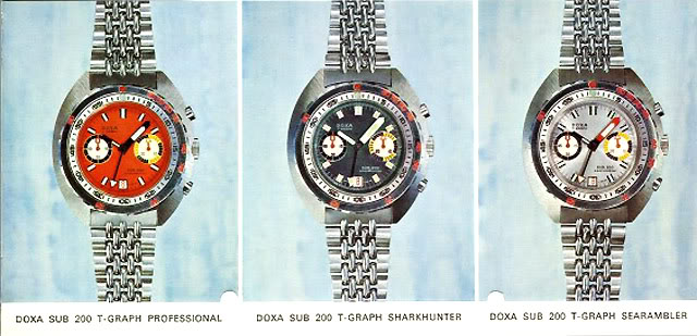 Doxa 750T Sharkhunter 3chronos