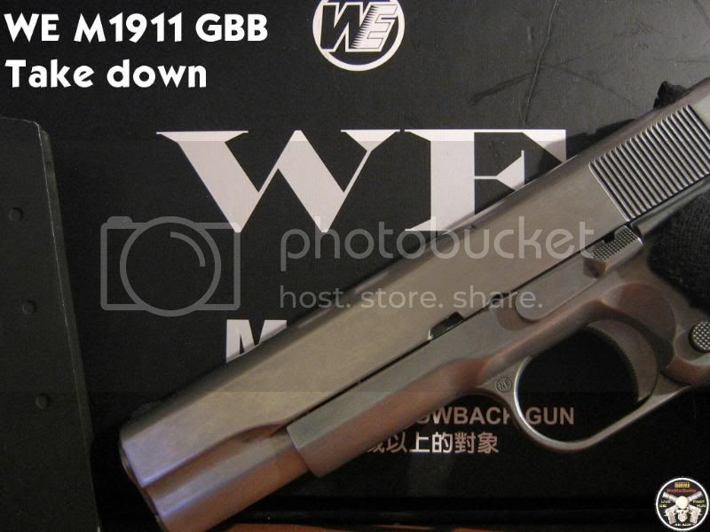 Complete WE M1911 Take Down (56k beware) Coverpage