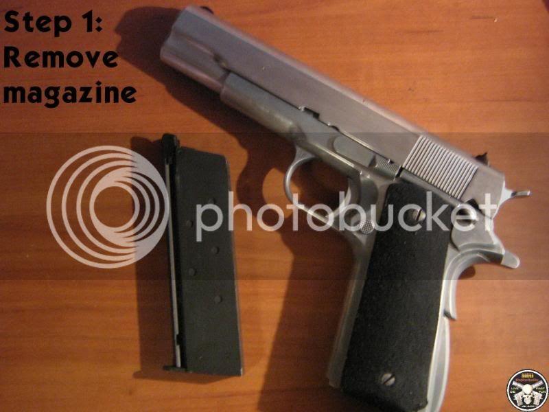 Complete WE M1911 Take Down (56k beware) Step01