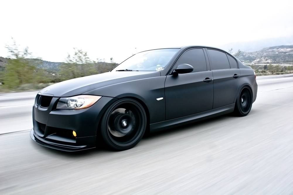 BMW M5 E60 Noir matte!!! (et autres BMW noir mattes!) - Page 2 IMG_6170