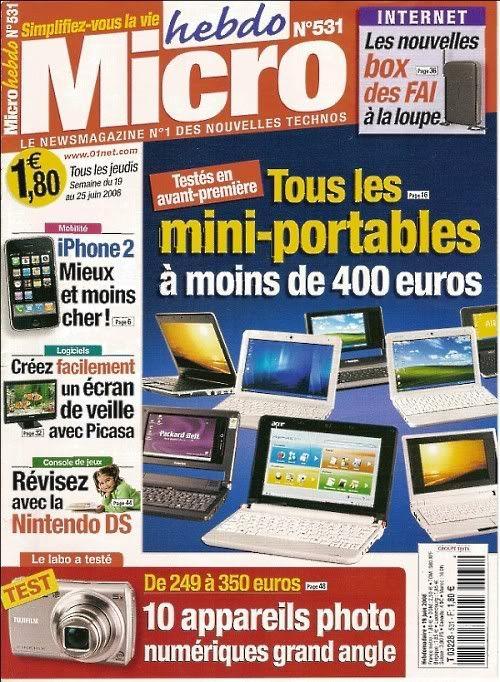 Micro Hebdo N°531 du 19 au 25 Juin 2008 01-21