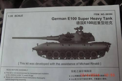 1/35 Trumpeter German E-100 Super heavy tank. CIMG2706_zps59f3f3aa