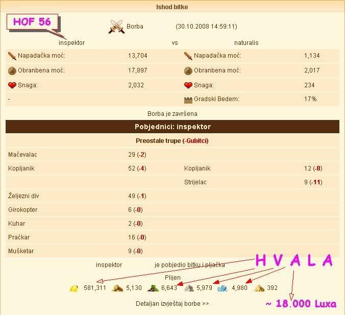 Inspektor protiv PRO naturalis :), pljacka do jaja Hof56