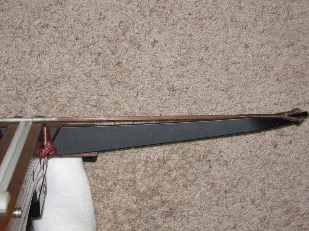 String slips off nock center (Prod angle issue) IMG_0872