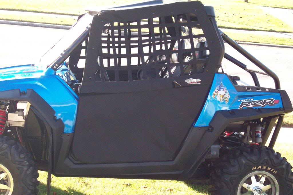 RZR PRP soft-skinned doors SOLD RZRdoorswithnets001