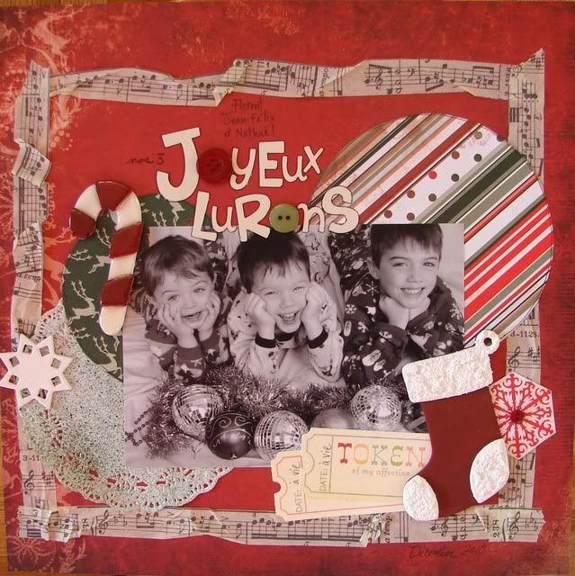 Kit de Décembre Joyeuxlurons