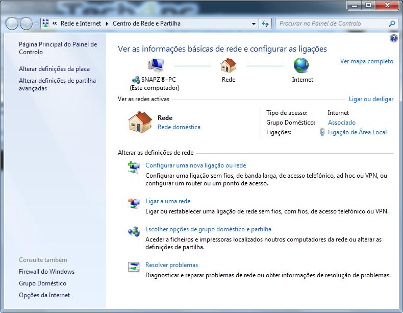 [Redes] - Criação de redes domésticas - Simplificado [windows 7] Rede2