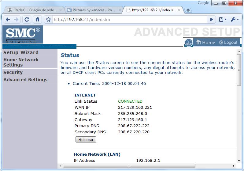 [Redes] - Criação de redes domésticas - Simplificado [windows 7] Conf11