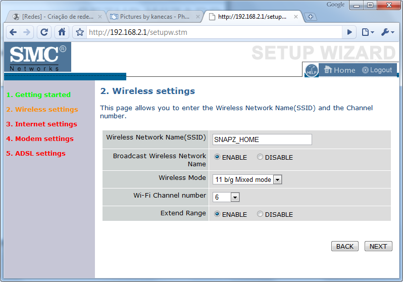 [Redes] - Criação de redes domésticas - Simplificado [windows 7] Conf5