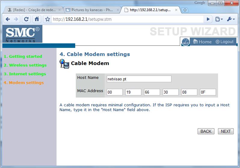 [Redes] - Criação de redes domésticas - Simplificado [windows 7] Conf7